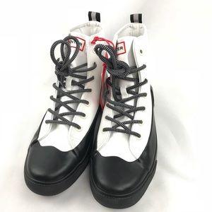 🆕 Hunter 4 Target Unisex Hightop Canvas Sneakers